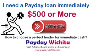 I need a Payday loan immediately