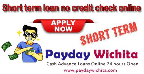 Short-term-loan-no-credit-check-online