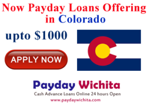 Payday loans Colorado are very popular amongst consumers in need of instant cash