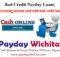 Borrowing instant cash with bad credit loans