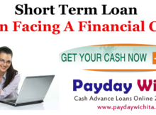 Short Term Loan When Facing A Financial Crisis