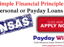 Simple Financial Principle Payday Loans Kansas