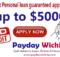 Bad Credit Personal loan guaranteed approval 5000