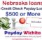 Nebraska payday loans no credit check