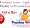Wisconsin Personal Payday Loans