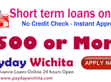 short term loans no credit check online