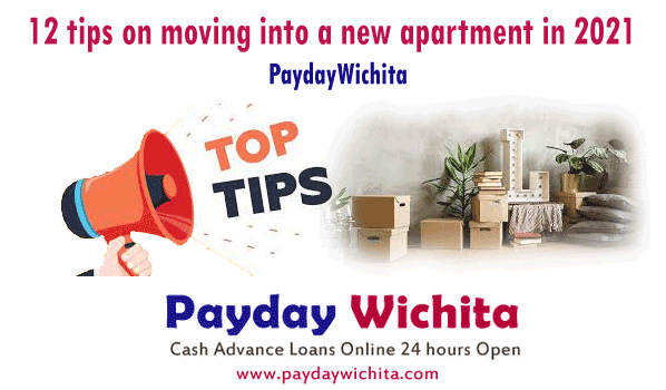 12 tips on moving into a new apartment in 2021 PaydayWichita