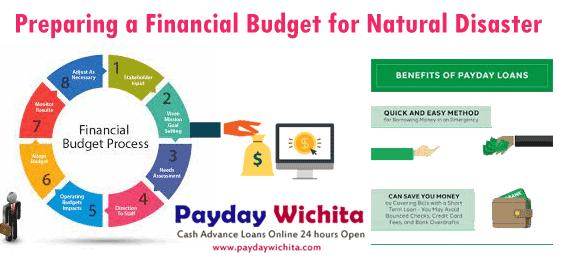 Preparing a Financial Budget for Natural Disasters PaydayWichita